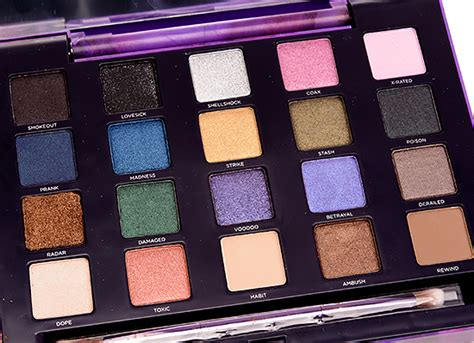 Decay Vice decay vice 2 eyeshadow palette review swatches