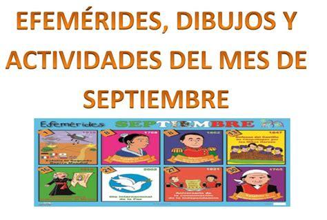 imagenes escolares del mes de septiembre efem 233 rides actividades y dibujos para colorear del mes de