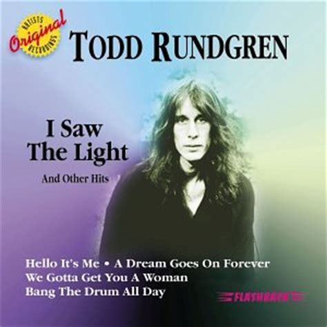 todd rundgren i saw the light other hits