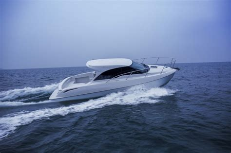 toyota unveils boat with multi material construction - Boat Show Japan