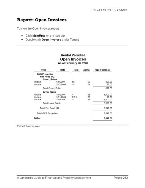 Property Management Invoice Invoice Template Ideas Property Management Invoice Template