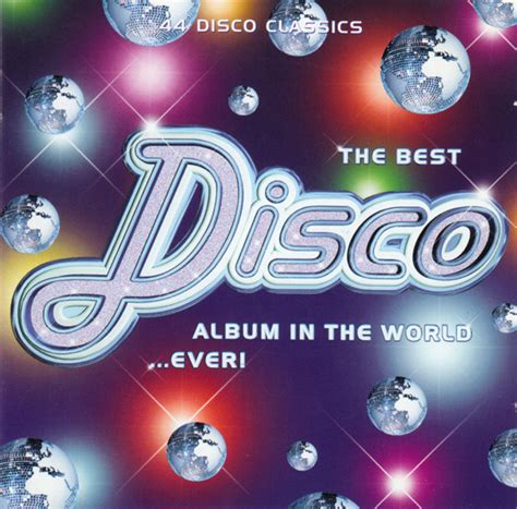best disco various the best disco album in the world cd