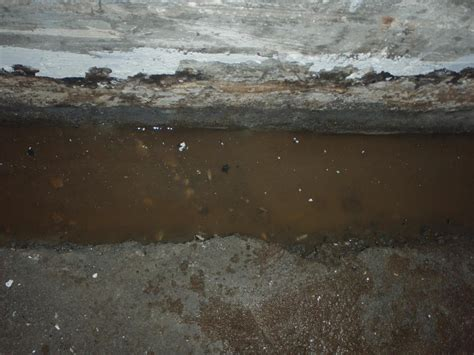 water seeping into basement floor water that was seeping into the basement quickly fills the