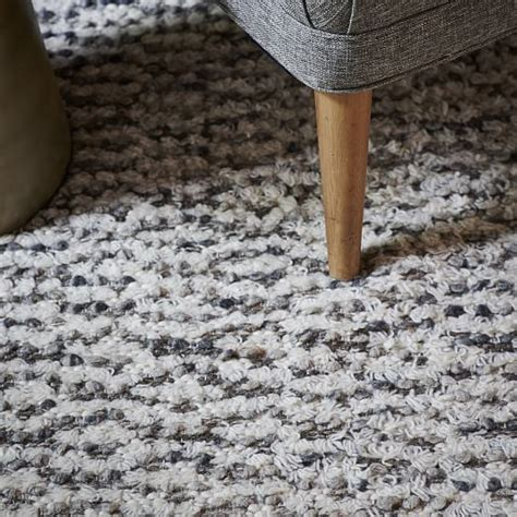 popcorn loop rug popcorn wool shag rug west elm
