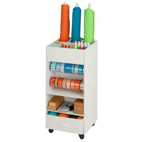 Fabric Drawer Storage by Storage Cart W Fabric Drawer Walmart Canada