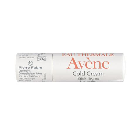 Avene Cold Lipbalm buy avene eau thermale lip balm with cold 4 5g
