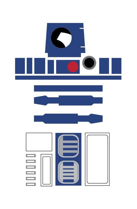 r2d2 template r2d2 printable template search wars