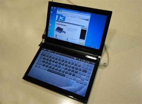 Laptop Acer Dual acer iconia touchbook dual screen touch laptop 67000 clickbd