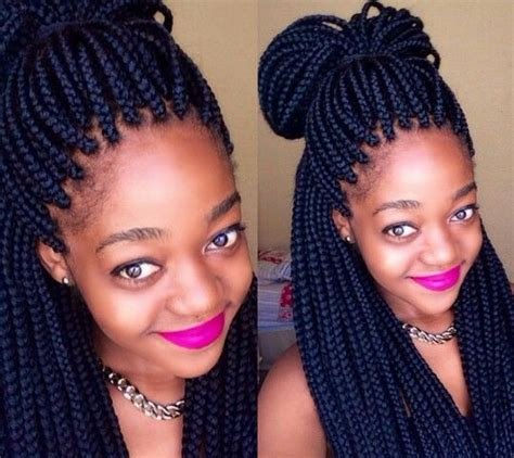 Box Plaits Hairstyles by Box Plaits Hairstyles Jumbo Box Braids Hairstyles