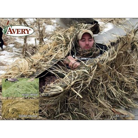 layout blind turkey hunting prairiewind decoys killerweed layout blind kit by avery