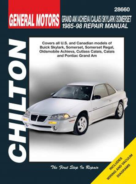 buick skylark somerset oldsmobile achieva calais grand am 85 98 chilton manual hay28660