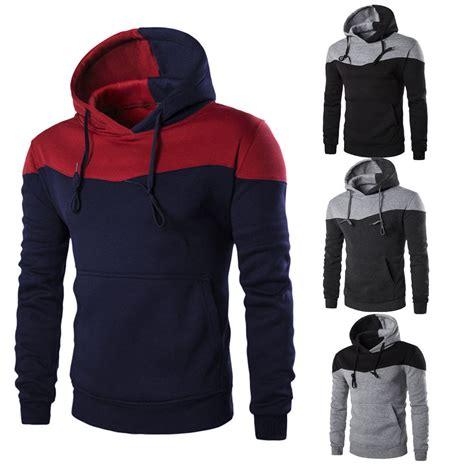 Sweater Jaket Hoodie Boy Terlaris winter slim hoodie warm hooded sweatshirt coat jacket outwear sweater ebay