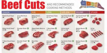 Beef Sections Chart by Infographic Shows Every Beef Cut Business Insider