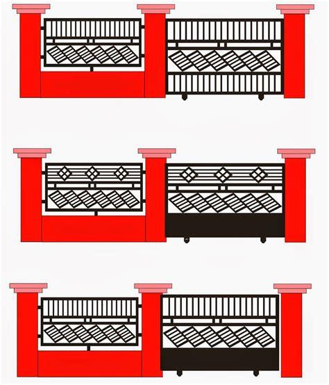 Rak Tv Besi Hollow keren 20 koleksi desain pagar besi hollow minimalis