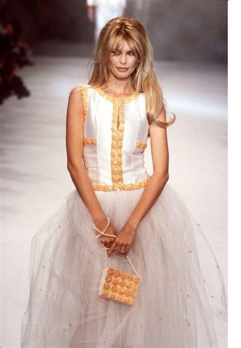 Catwalk To Carpet Schiffer In Chanel by Schiffer Schiffer Hair And