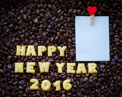 new year cookies 2016 alphabet happy new year 2016 made from bread cookies stock