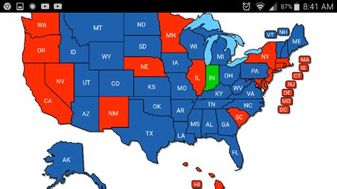 concealed carry usa map what states