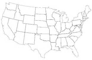 united states map without labels this is what happens when americans are asked to label