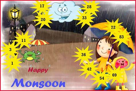 kitty themes for june monsoon theme tambola game ladies kitty party