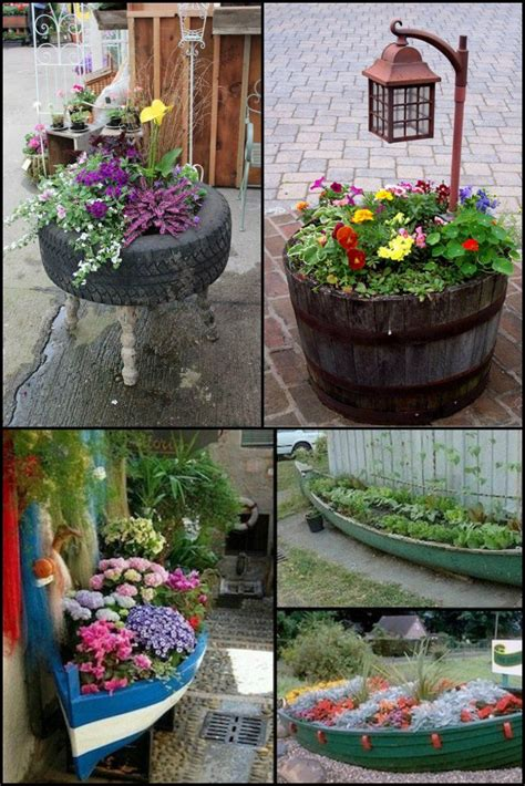 unique planters 48 unique garden planter ideas you can build yourself http
