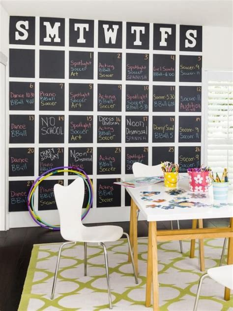 cool smart home ideas 32 smart chalkboard home office d 233 cor ideas digsdigs