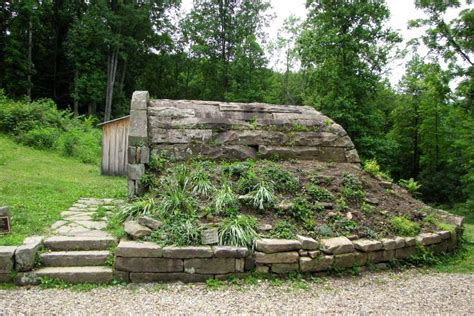 Root Cellar In Basement by Visiting The Stone House Museum Rural Ramblings