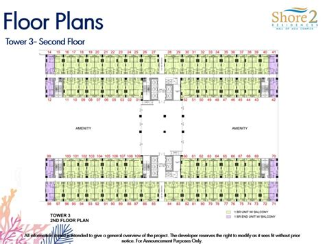 Sm Mall Of Asia Floor Plan | shore residences floor plan shore residences smdc