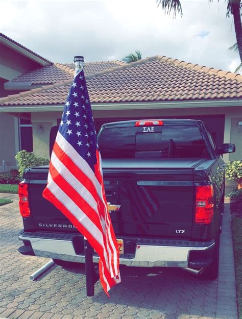 flag holder for truck bed whats everyone doing for flag poles 2014 2015 2016