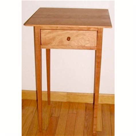 Shaker Furniture Plans by Shaker End Table Plan Shaker Furniture Plans