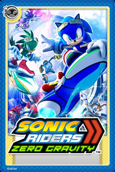 Sonic Gift Card Online - image sonic riders zero gravity card jpeg sonic news network fandom powered by wikia