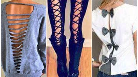 diy kleidung diy clothes hacks 20 diy ideas every should