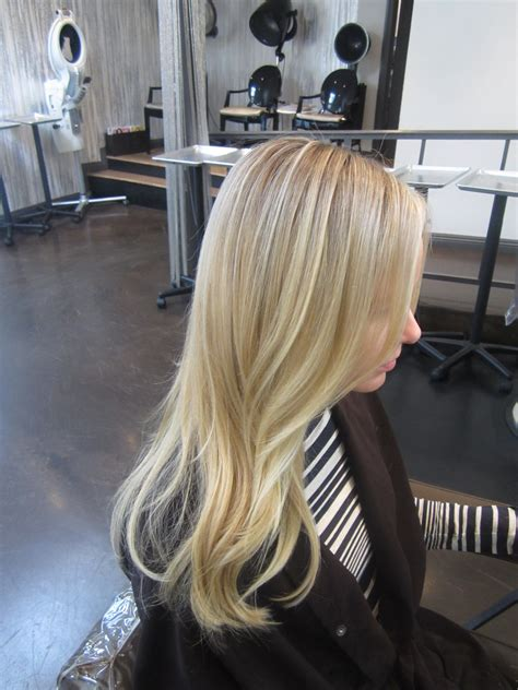 light blonde hair with highlights butter blonde neil george