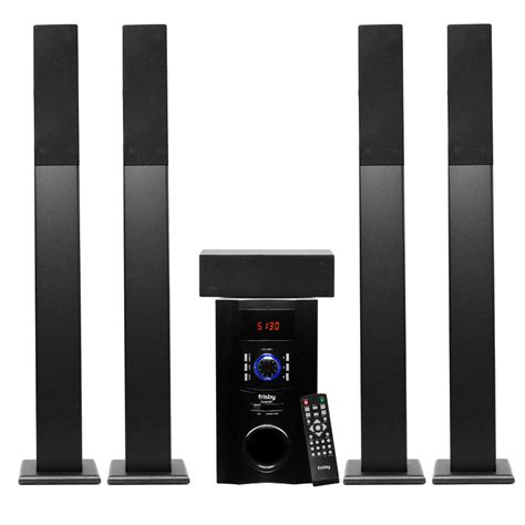 frisby fs 6500 5 1 surround sound home theater tower