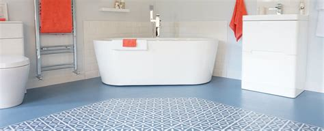 Blue vinyl flooring tiles harvey maria
