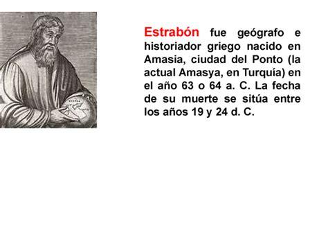 biografia estrabon apuntes de la historia j ossorio sobre iberia estrab 243 n