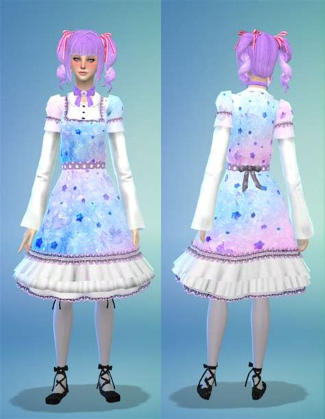Gamis Decya Dress Orinawa 183 best kawaii sims 4 cc clothing images on clothes clothing and cloths