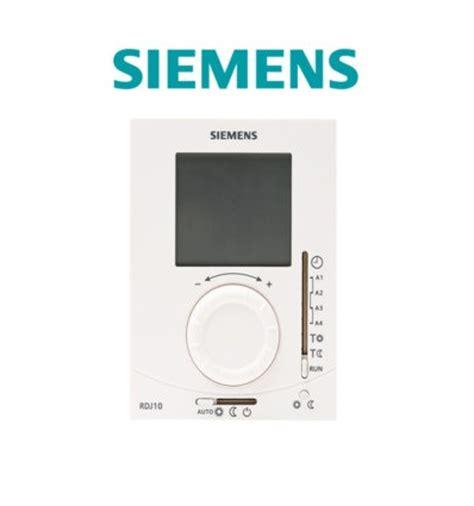 Lcd Siemens A 71 siemens thermostat ambiance grand ecran lcd piles journalier rdj100 distriartisan