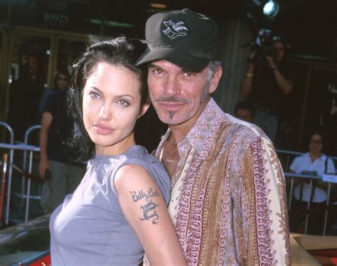 angelina jolie billy bob tattoo and billy bob thornton photos worst