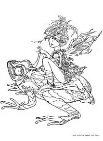 free coloring pages of fantasy