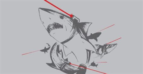barcode tattoo oreo the ultimate killing machine quot sharks with lasers quot graphic