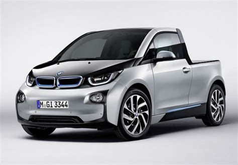 this bmw i3 up truck could actually be pretty cool