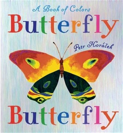 butterfly butterfly a book of colors by petr hor 225 芻ek
