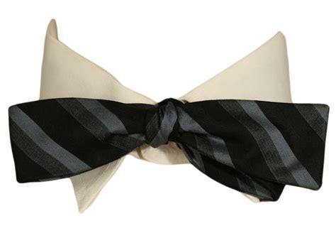 vintage striped bow tie ballyhoovintage