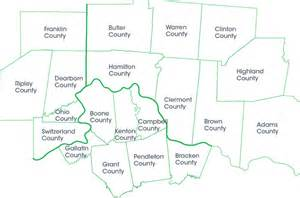 service county map service area