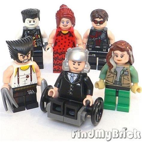 Lego Minifigure X Professor Profesor X Bootleg lego 6x custom x cyclops professor x rogue wolverine minifigues new ebay