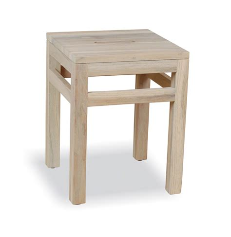 square stool side table poddington