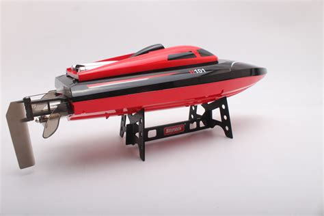high speed rc racing boat h101 red 2 4ghz radio remote control micro high speed rc