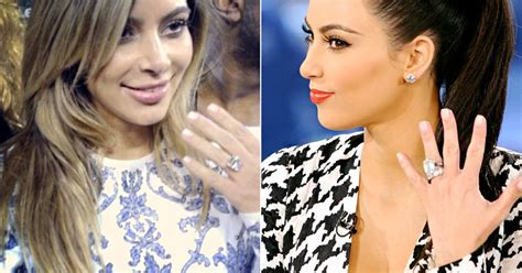 kim kardashian engagement ring cost kanye kim kardashian s engagement rings kanye west kris