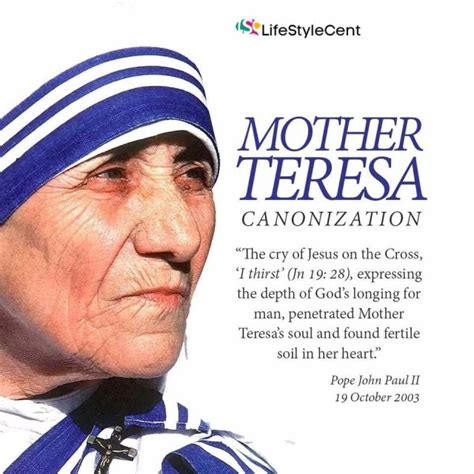 biography about a mother saint mother teresa s quotes to live by lifestylecent