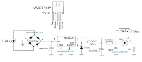 3v power supply circuit diagram 3 3v mini power supply